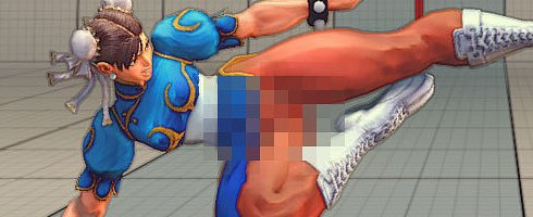 Looks like modders have created nude skins for some of Street Fighter IV's ...