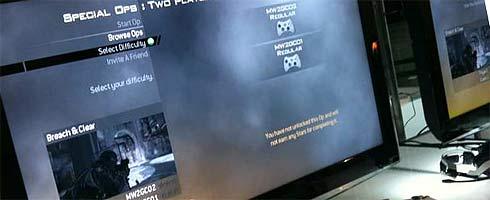 Modern Warfare 2 - first lobby screen - VG247