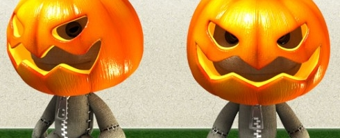 LBP Pumpkin Sackboy