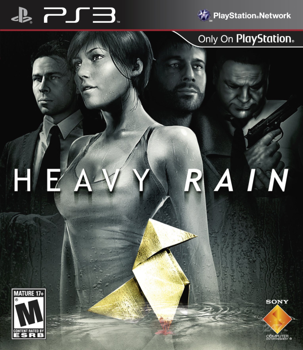 Heavy Rain US Cover