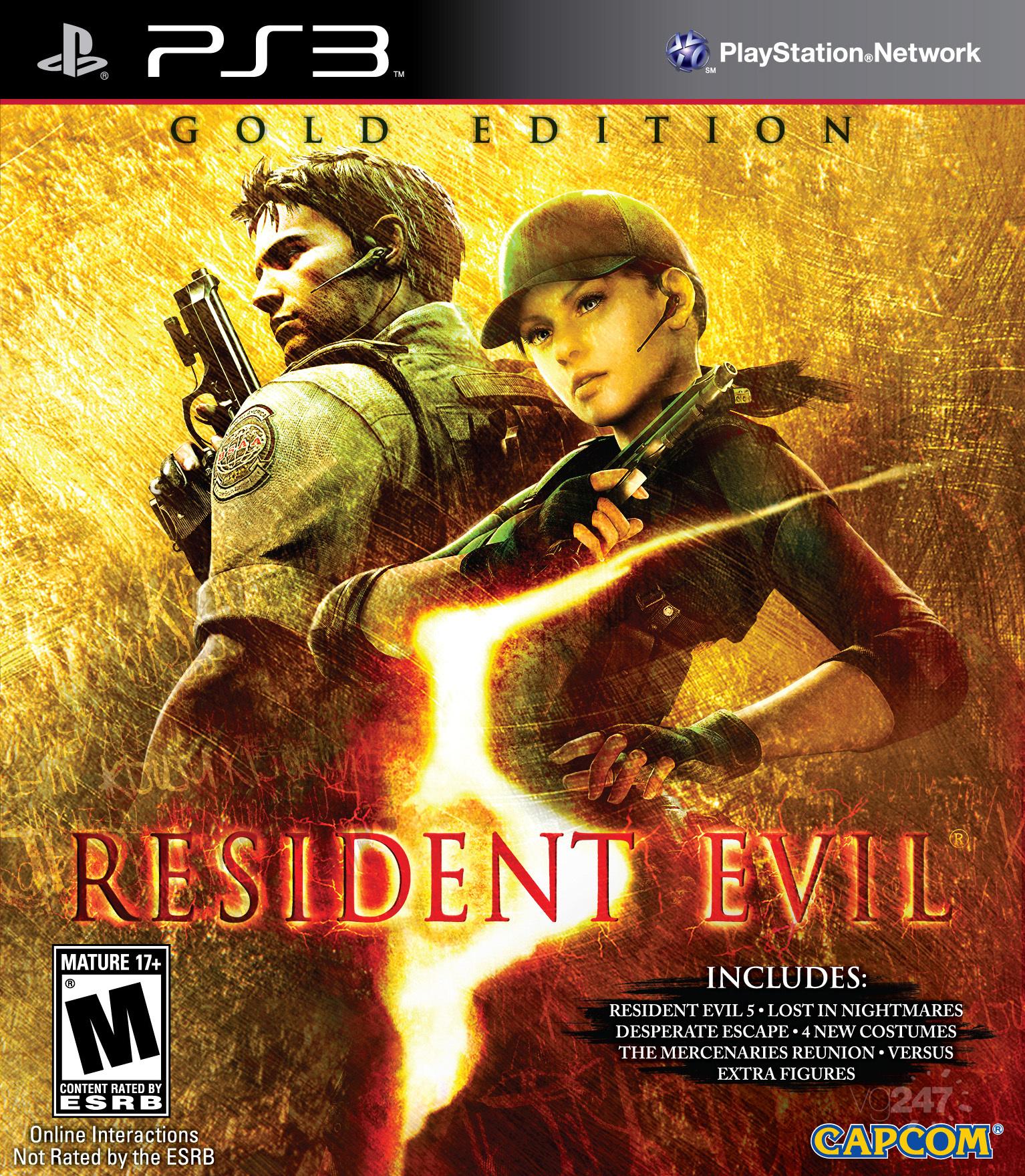 غلاف Resident Evil 5: Gold Edition