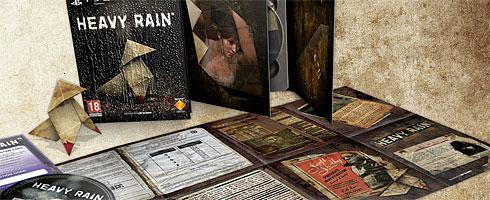 الاصدار الخاص بالعبـــة المنتظرةHeavy Rain