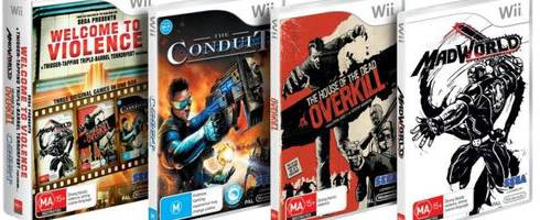 Mature games for wii