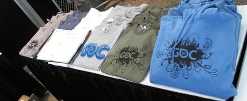 GDC t-shirts