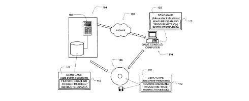 PS3 demo patent