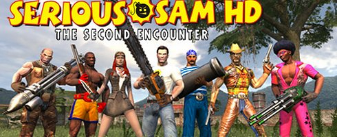 serious sam and the village people