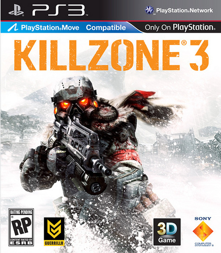 killzone 3 cover art