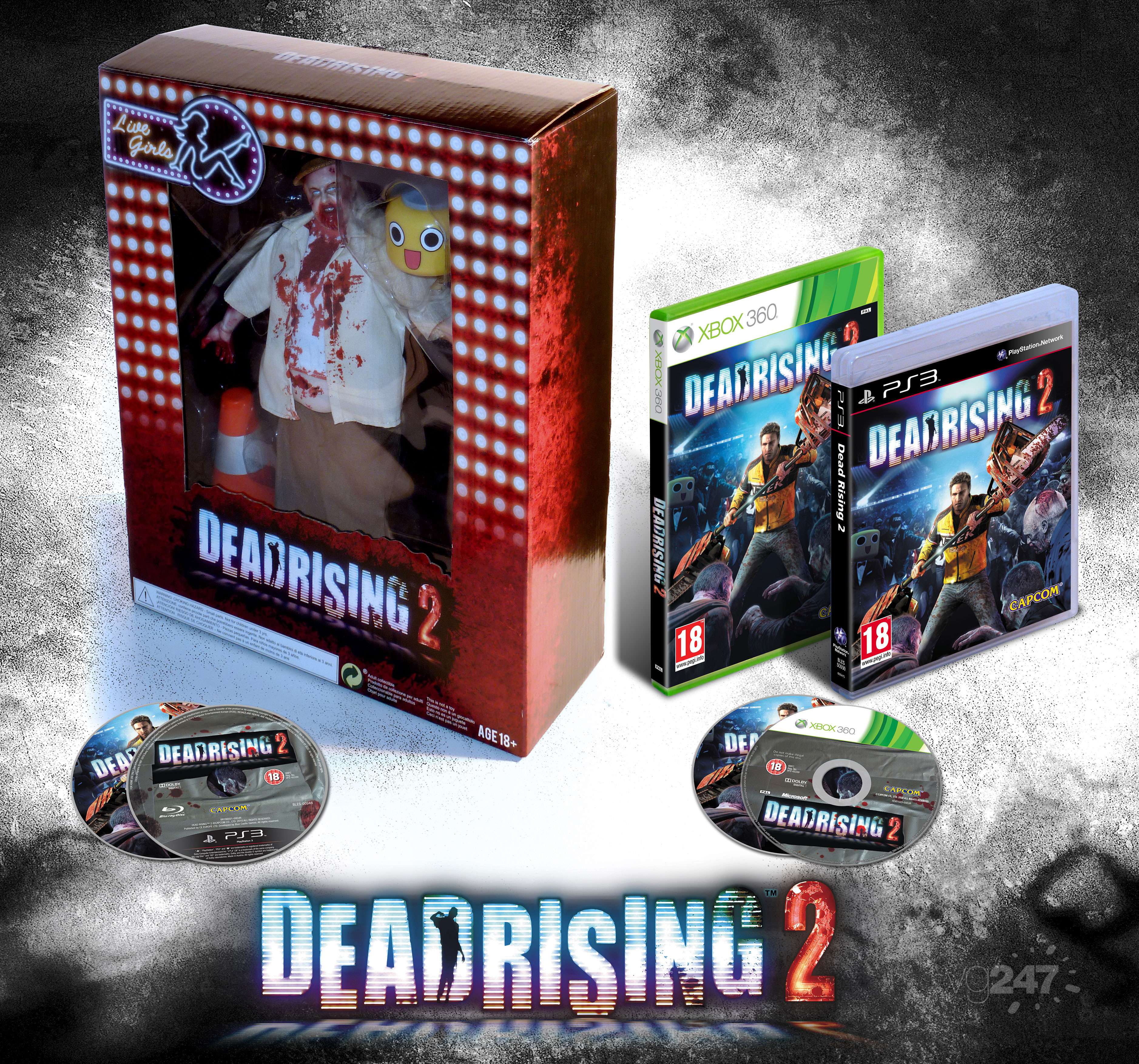 Dead Rising 2 Euro Special Edition Announced Pictured Update