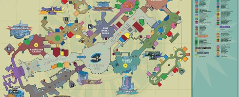 Dead Rising 2 Check Out The Map For Fortune City Vg247
