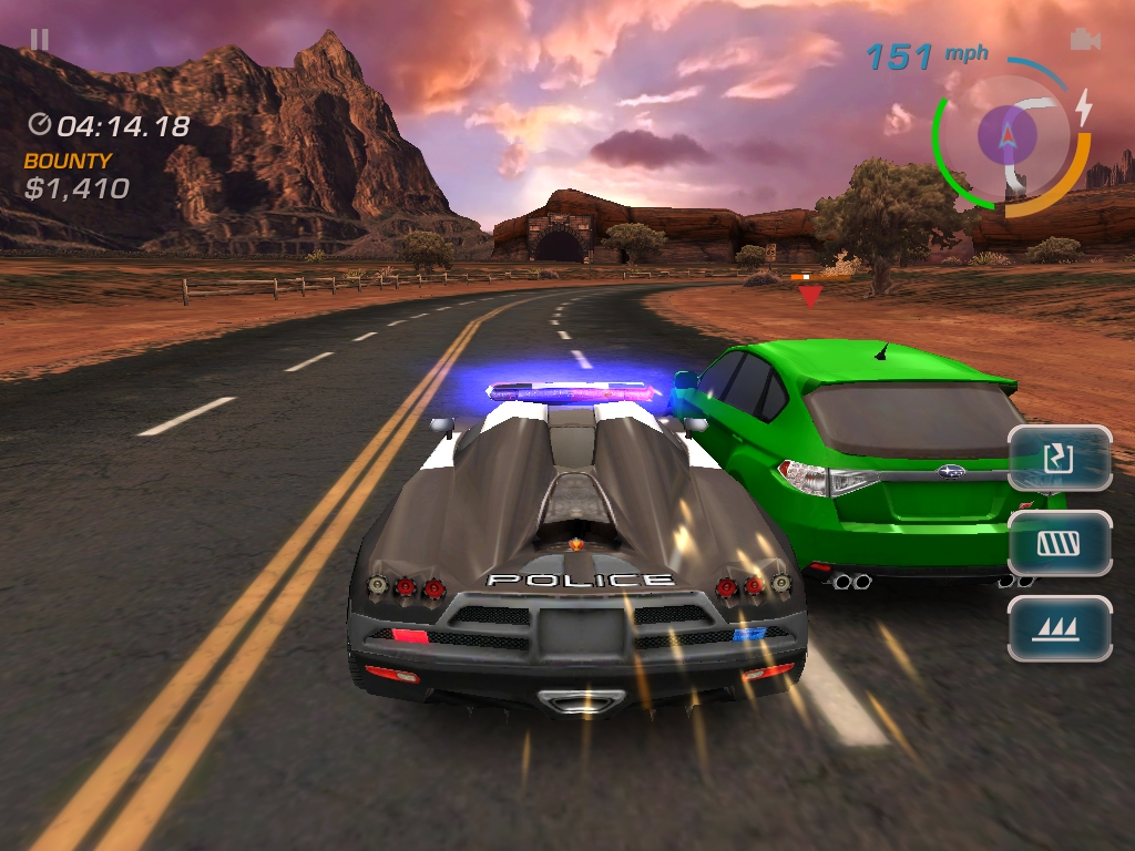 Here S What Need For Speed Hot Pursuit Looks Like On Ipad Vg247