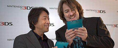 Satoru Shibata and Jonathan Ross