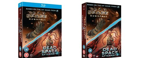 Dead Space Downfall And Dead Space 2 Aftermath Dvd And Blu Ray