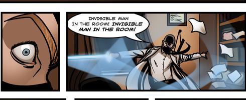 ghost trick comic