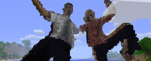 minecraft kinect