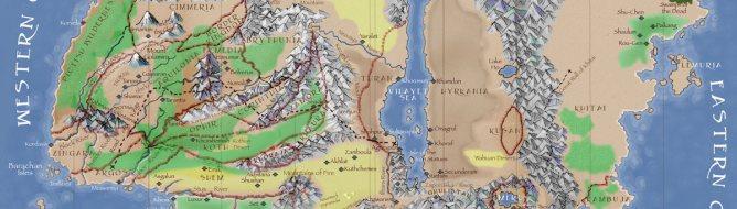 Age of Conan - Map of Hyboria