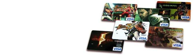Capcom VISA cards
