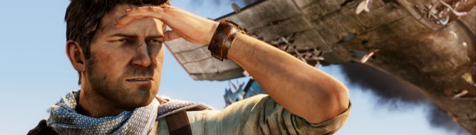 Nathan Drake in Uncharted 3