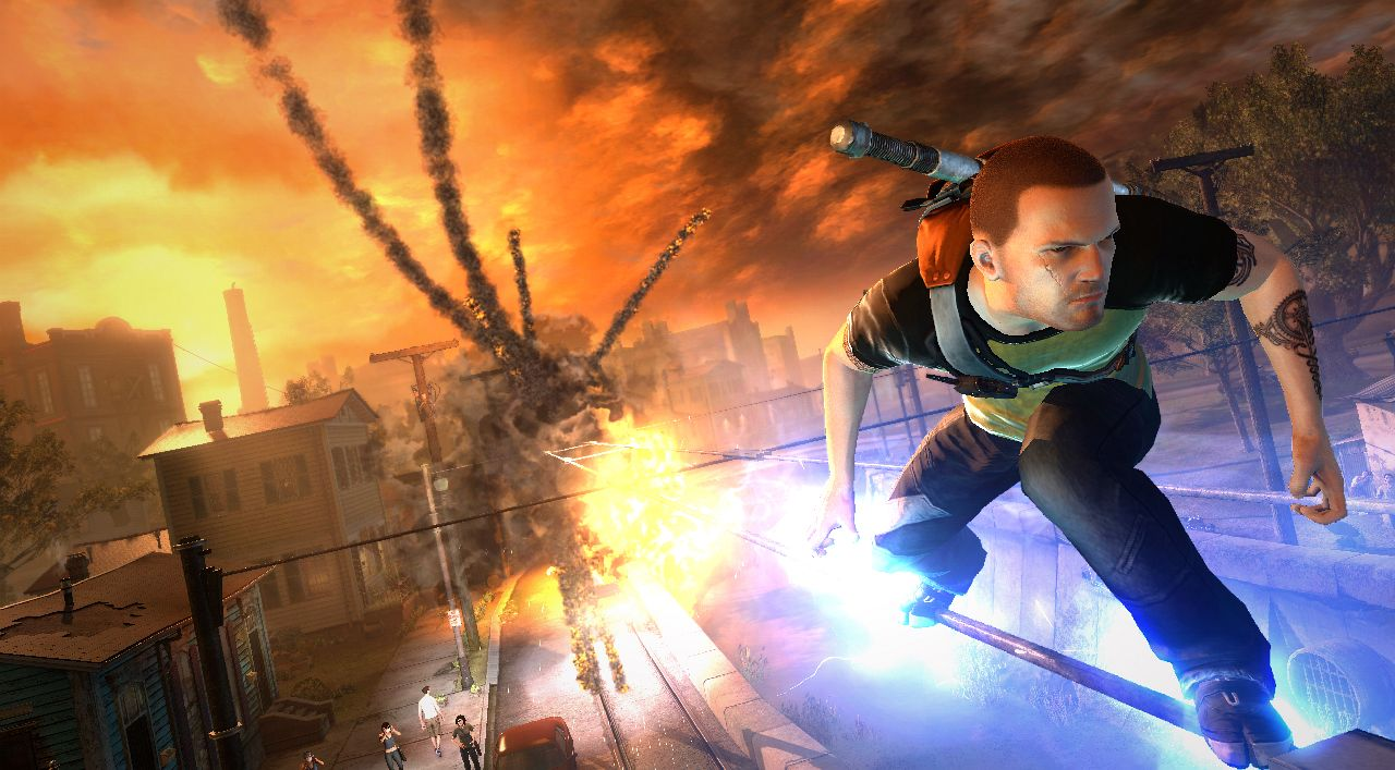 PSA: inFamous 2 demo is live, screenshot extravaganza hits