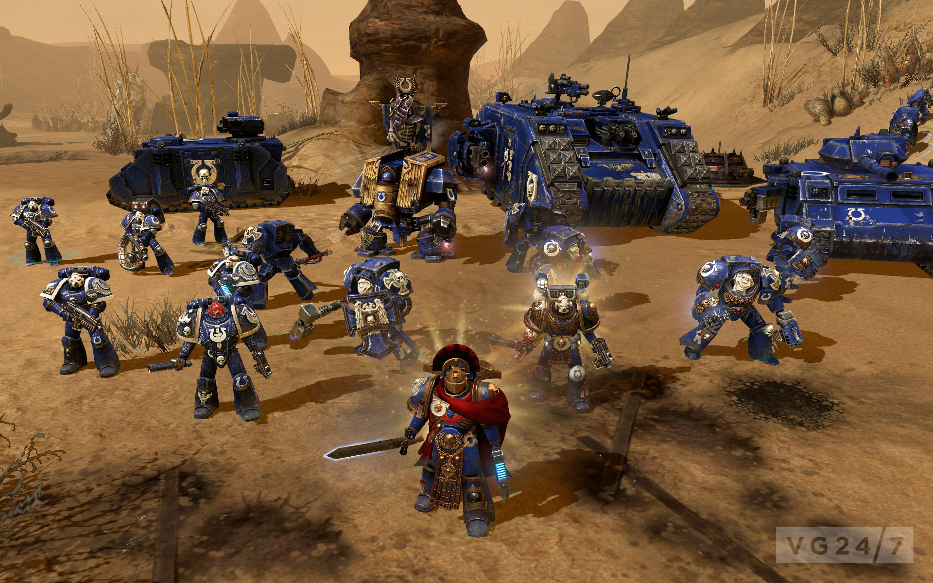 Ultramarines DLC previewed for Dawn of War 2 - VG247