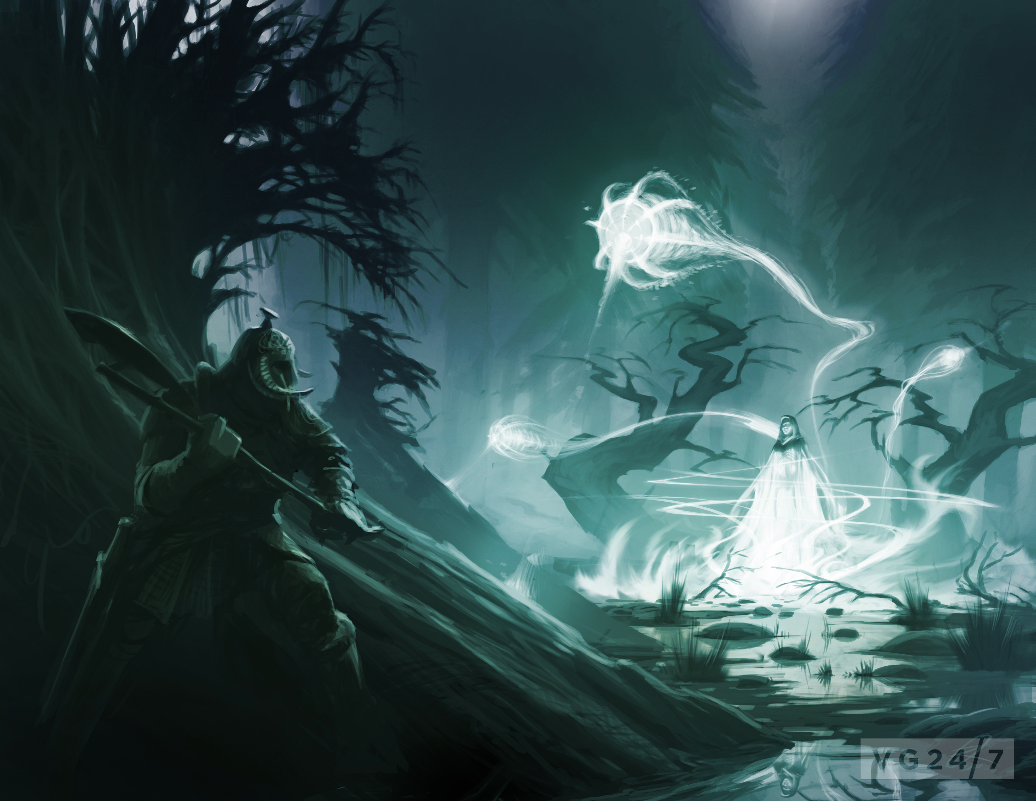 Quick shots - Skyrim concept art depicts people and places - VG247