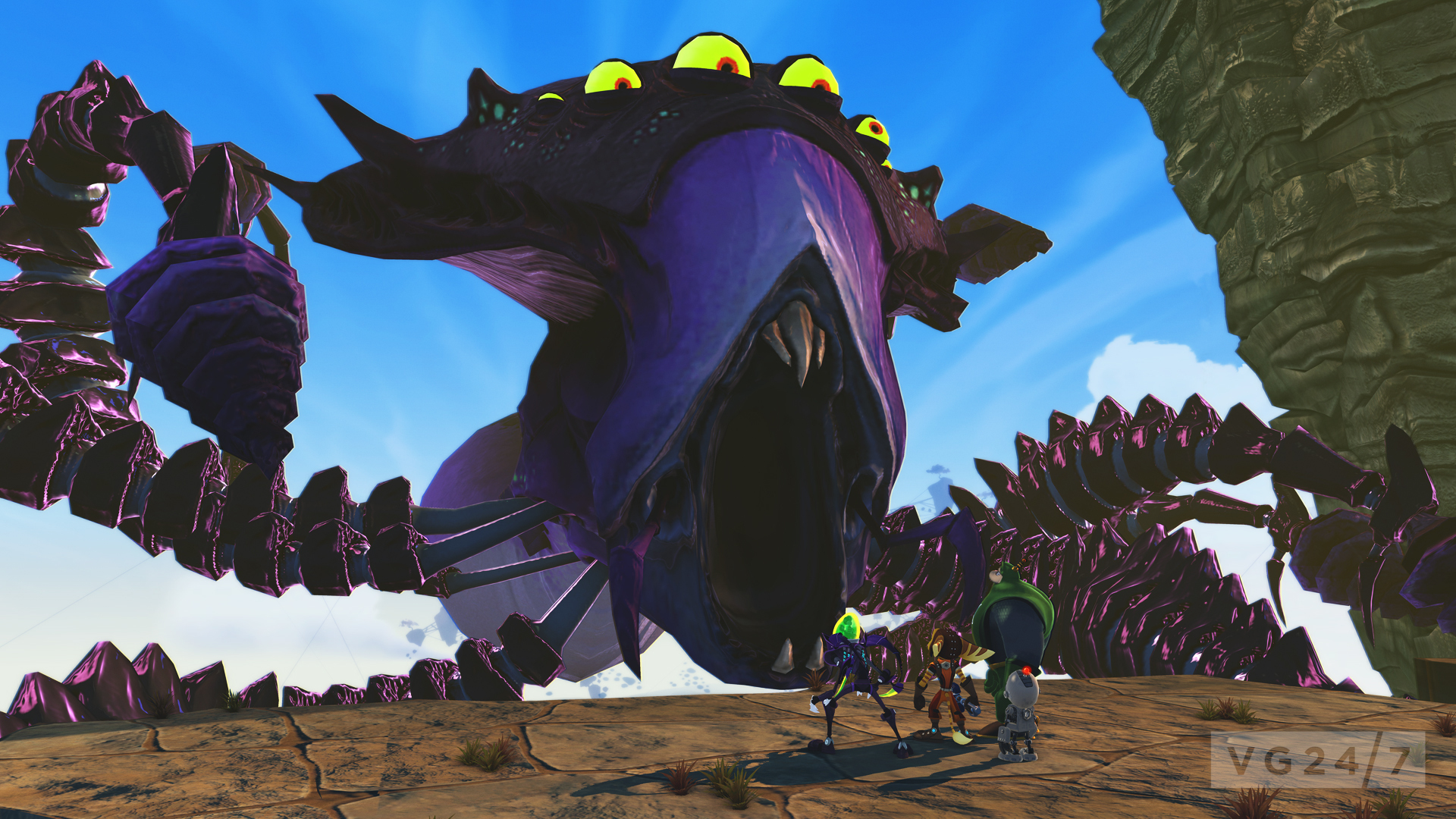 Ratchet And Clank All 4 One Screens And Videos Released For Us Launch Vg247