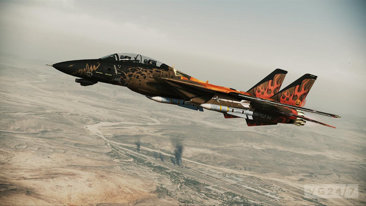 Second batch of Ace Combat: Assault Horizon DLC hits next