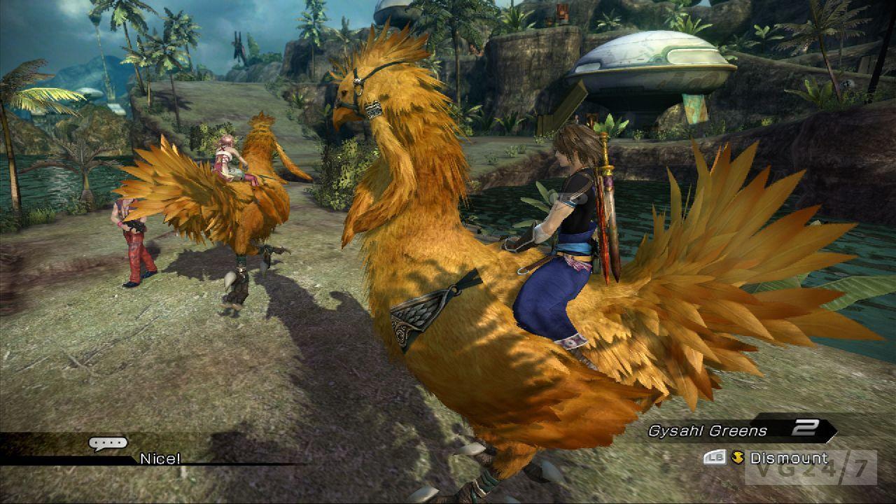 Quick Shots: Final Fantasy XIII-2 screens show a gorgeous