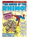 Marvel Comic Book Art - The Horns of the Rhino!