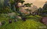 Pandaren_Hunter_with_Turtle_Pet_in_Wandering_Isle