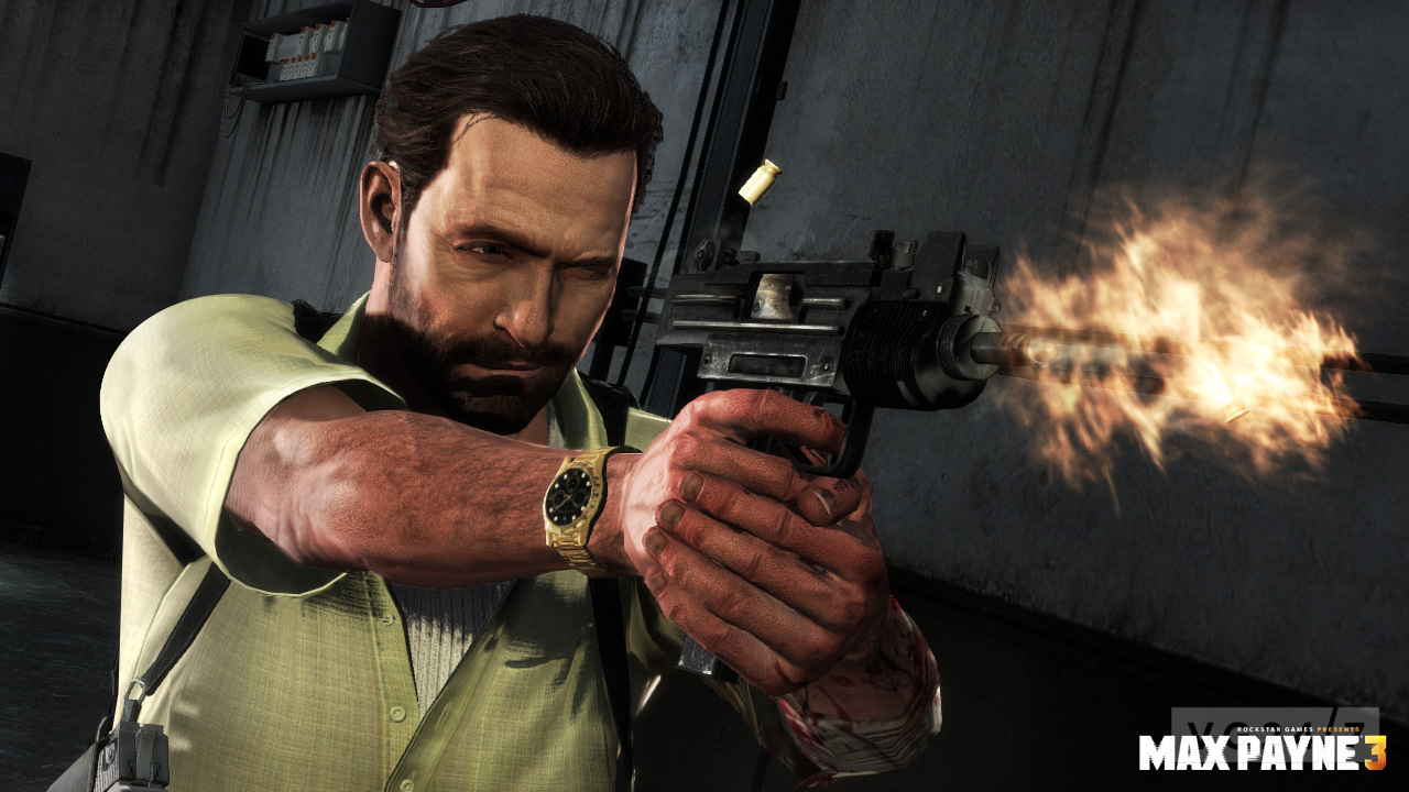 Max Payne 3 Weapons Video Is Full Of Submachine Guns Vg247