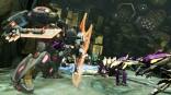 Transformers FOC - Grimlock using his shield_7