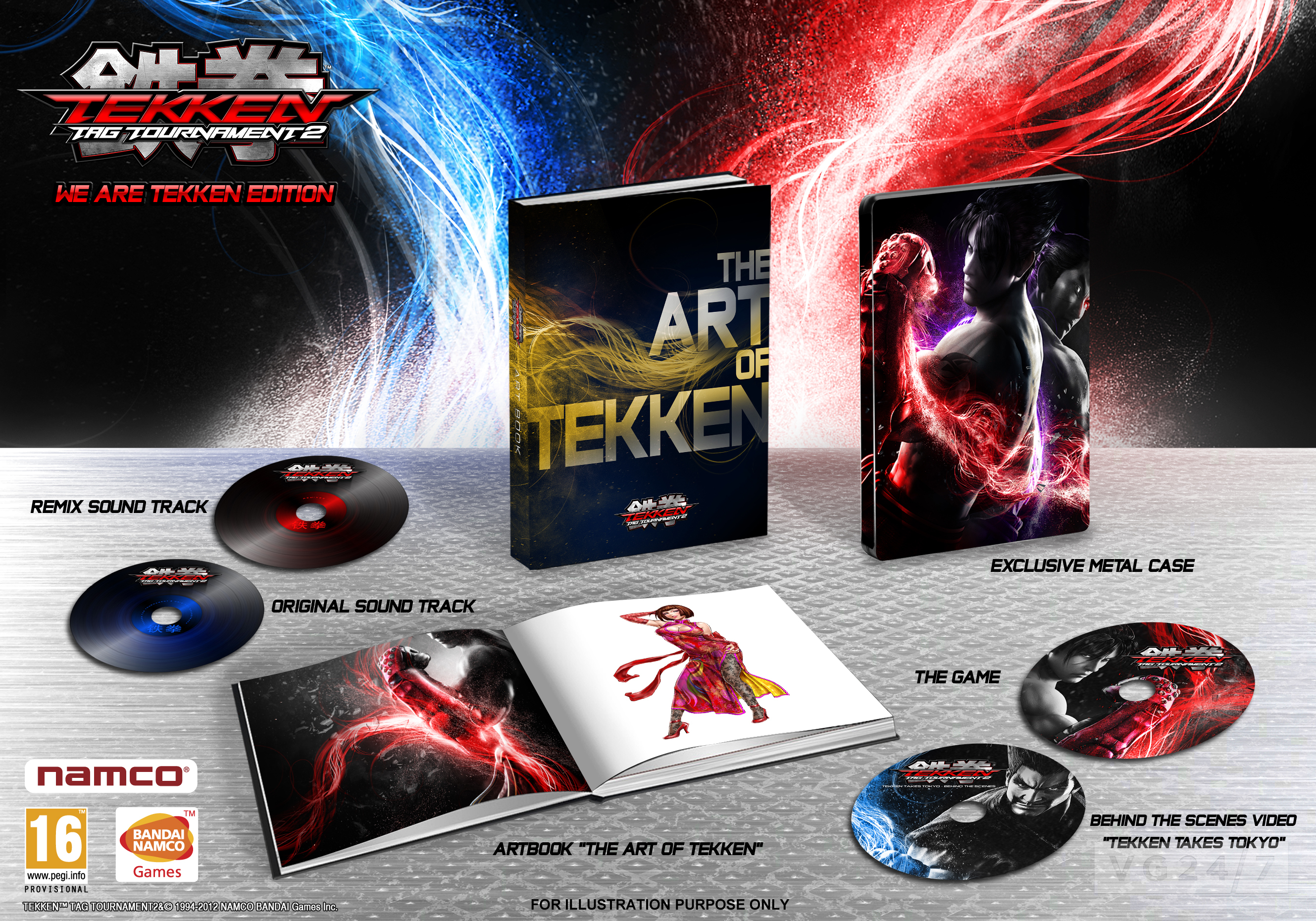 Tekken Tag Tournament 2 Launching In Europe September 14 Pre