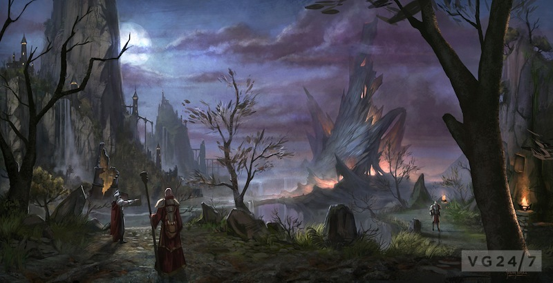 The Elder Scrolls Online screens and art show a colourful world - VG247