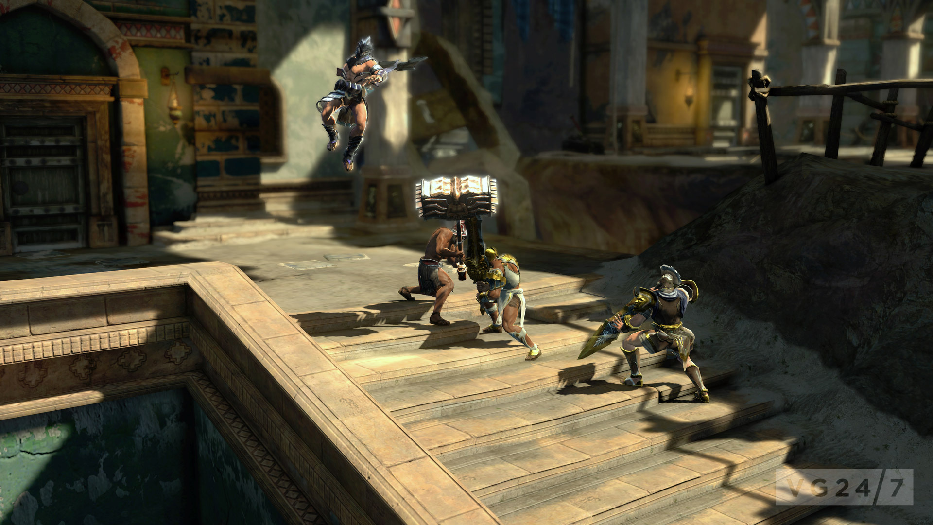 Quick shots god of war ascension screenshots vg247 sony has released a fresh batch of screenshots for god of war ascension showing off both the games singleplayer and multiplayer components voltagebd Choice Image