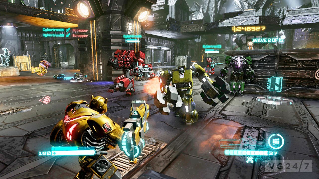 activision goes screenshot mental with transformers: fall of