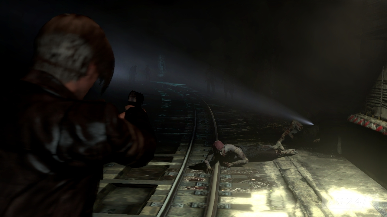 Resident Evil 6 Gameplay Videos Take On The Ustanak Subway Vg247