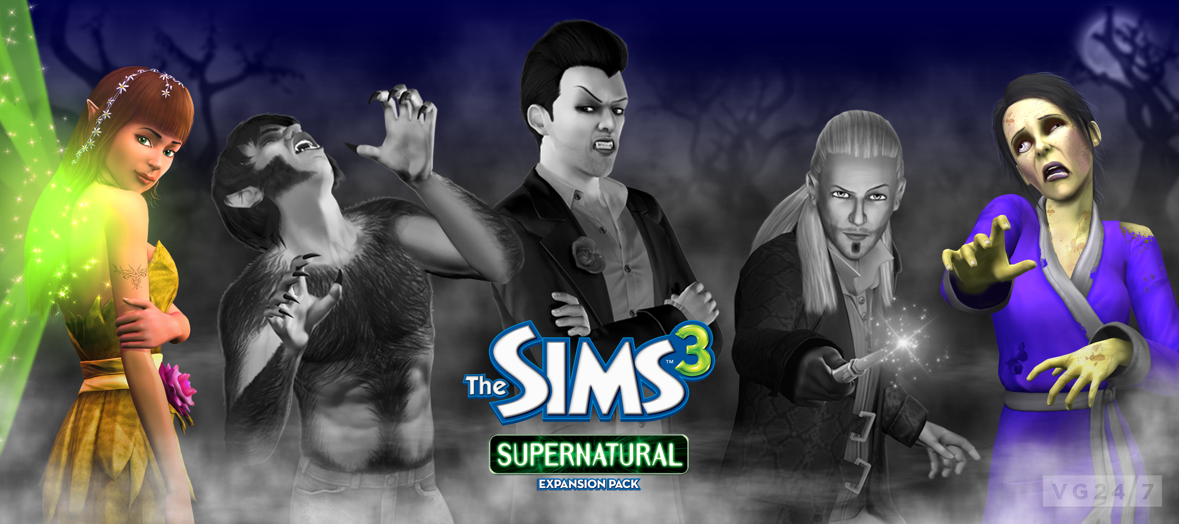 The sims 3 supernatural: werewolf abilities youtube.