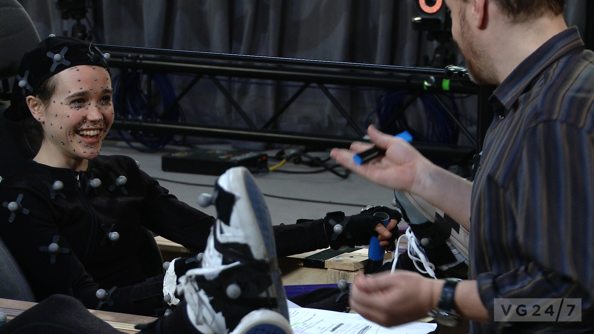 Beyond: Two Souls cast photos show motion capture work - VG247