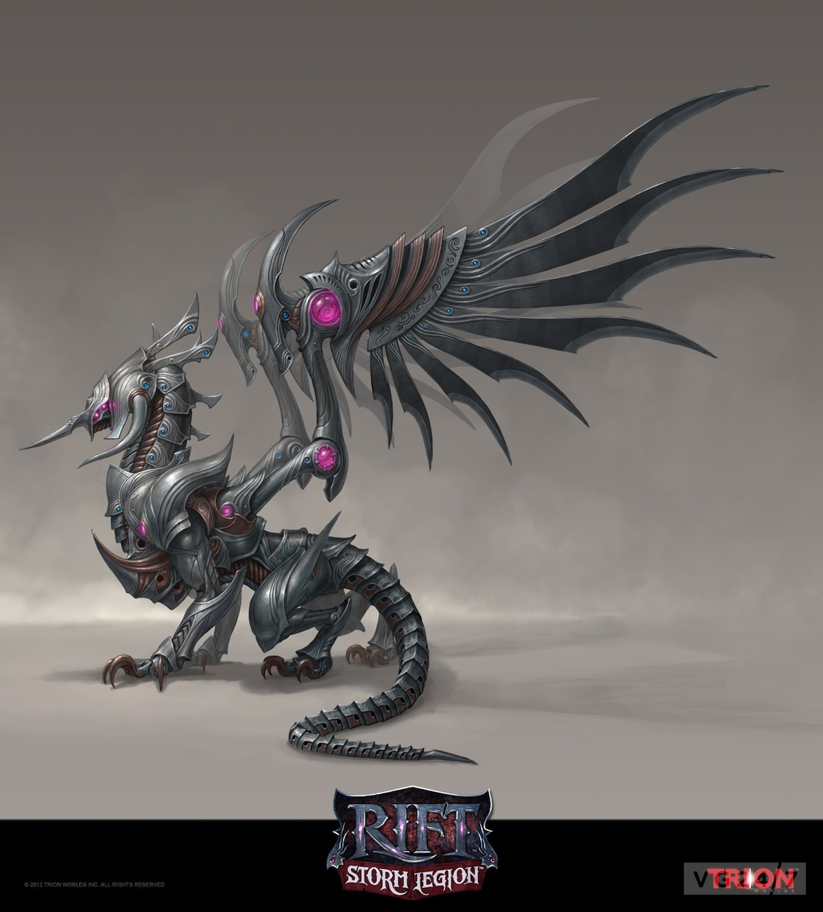quick shots rift s storm legion is full of dragons and robots vg247