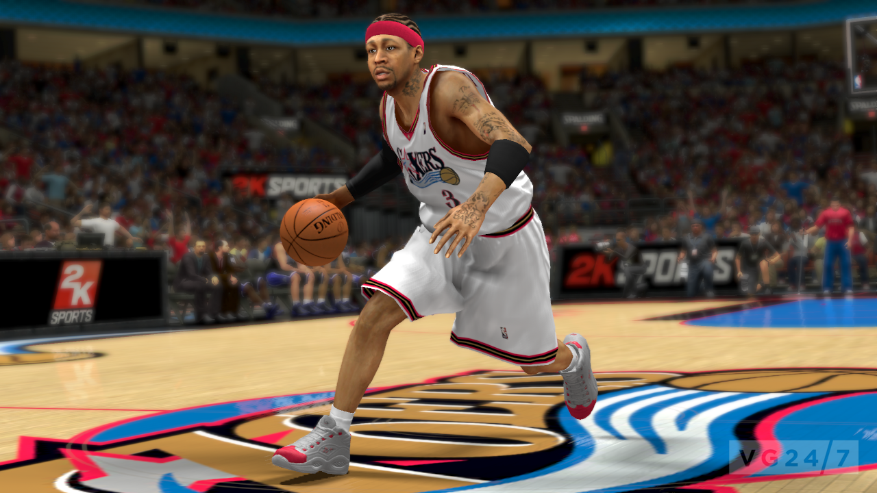 NBA 2K13 – Allen Iverson added to roster new shots released