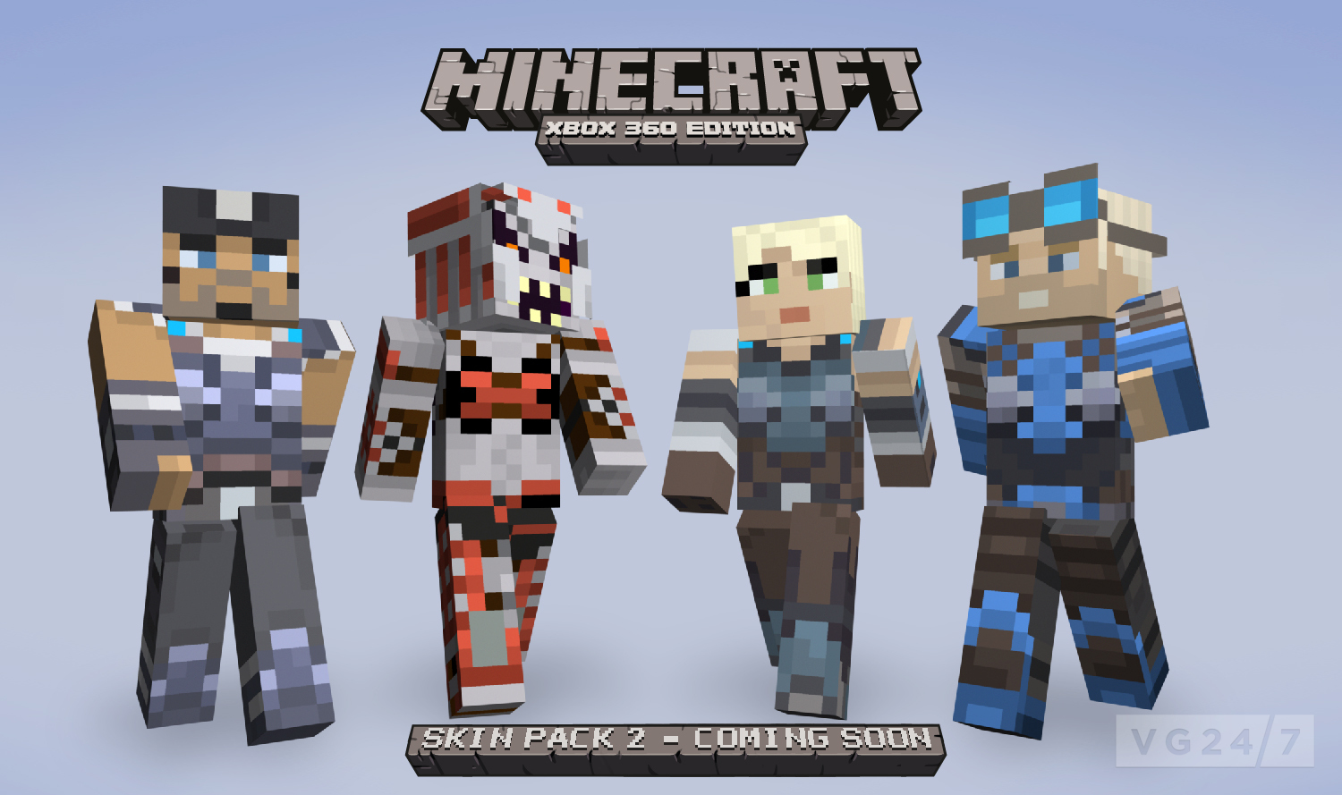 Minecraft Xbox Skin Pack Due August VG - Skin para minecraft or