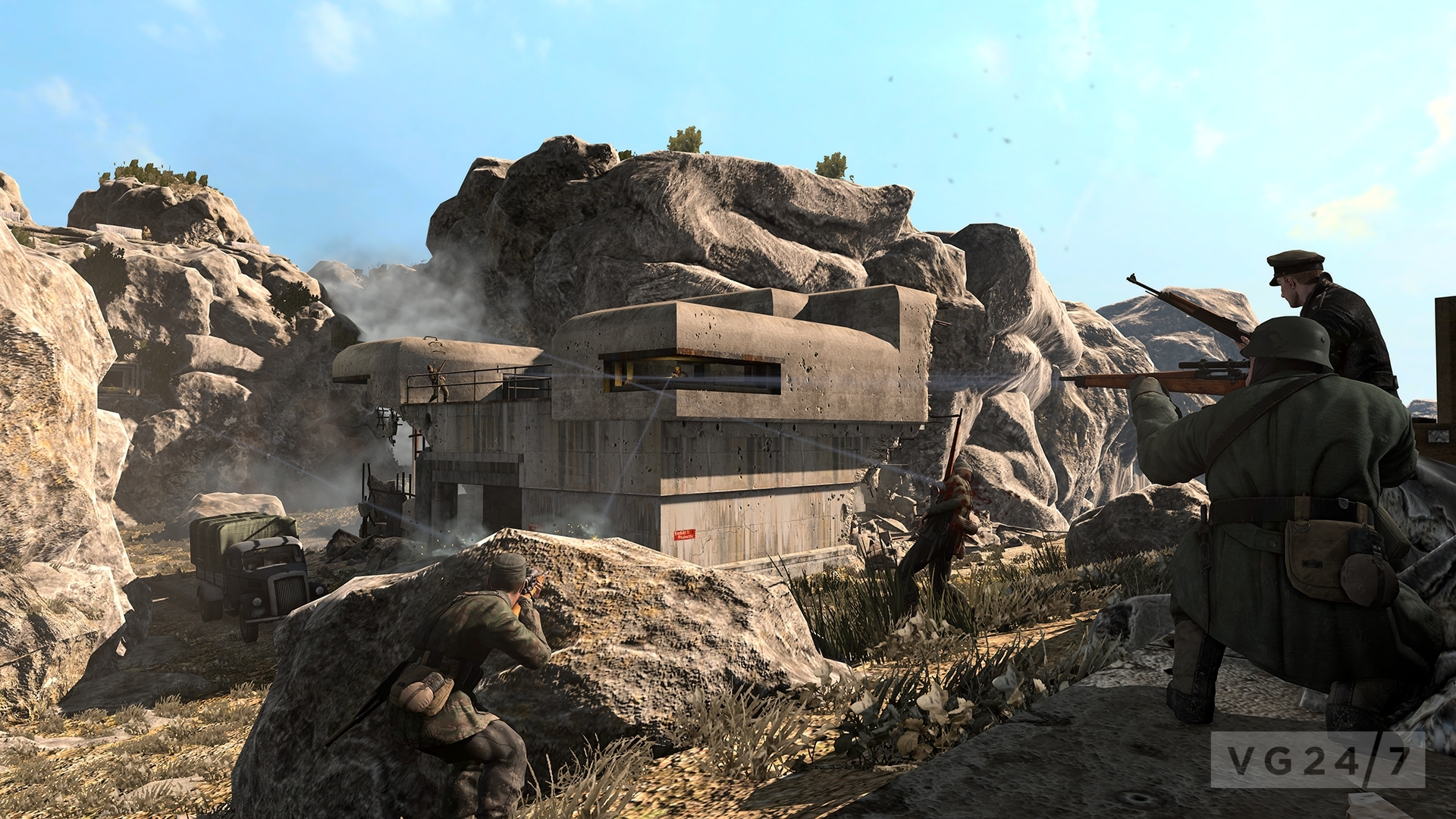 Sniper Elite V2 Multiplayer Dlc Will Be Available Later This Year