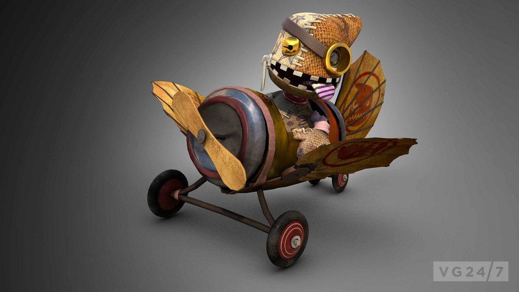 Littlebigplanet Karting Introduces Story Modes The Hoard Vg247