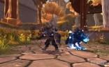 A_Worgen_Hunter_and_his_wolf_pet_in_the_Temple_of_Kotmogu_Battleground