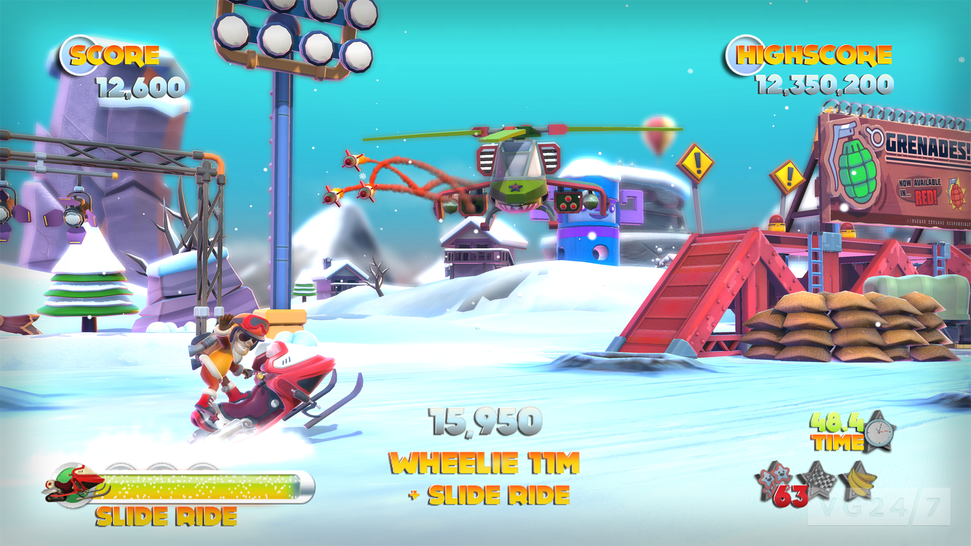 Joe Danger 2: The Movie shots and video show off some neat