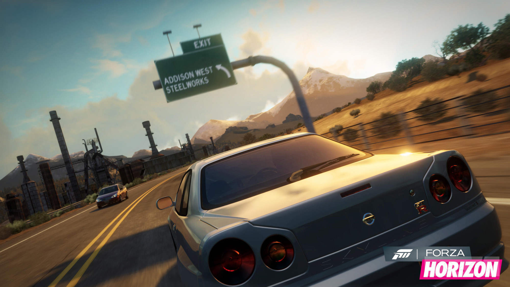 Forza Horizon shots show posh and muscley racers - VG247