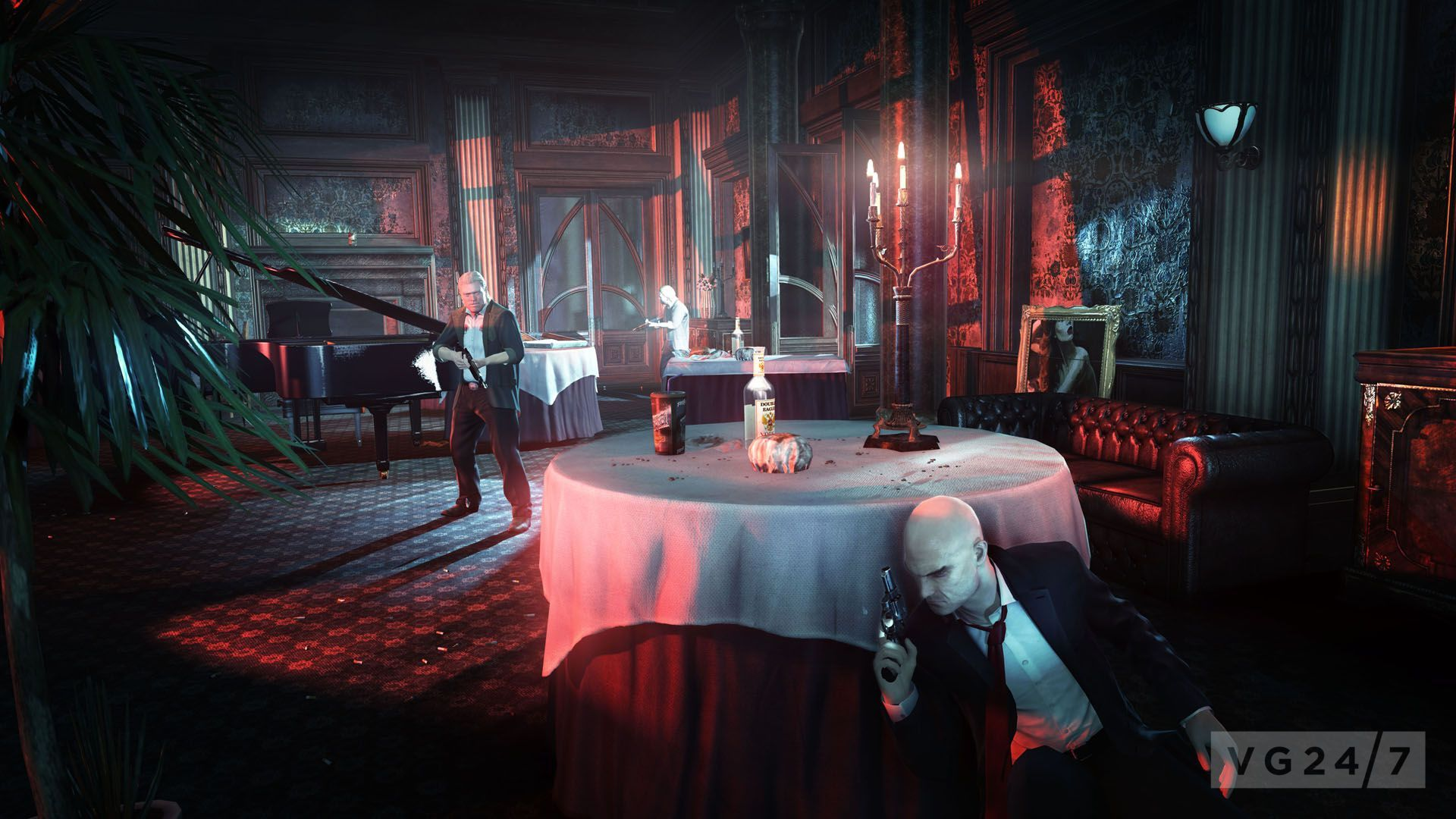 Hitman Absolution Shots Show Agent 47 In Various Job Positions