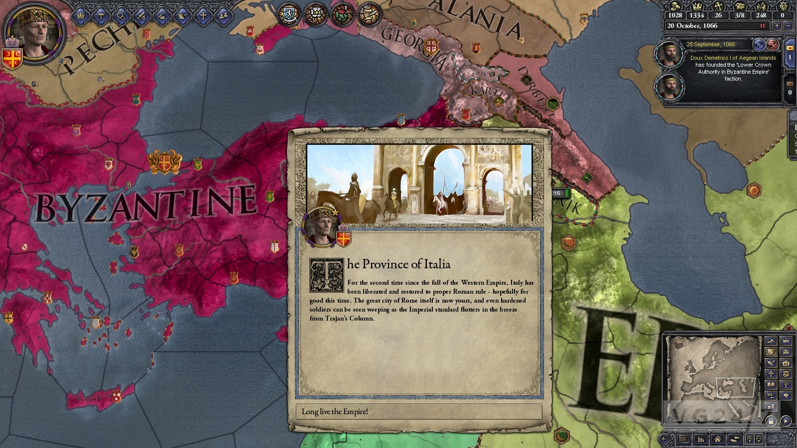 Crusader Kings 2: Legacy of Rome and patch 1.07 now available | VG247