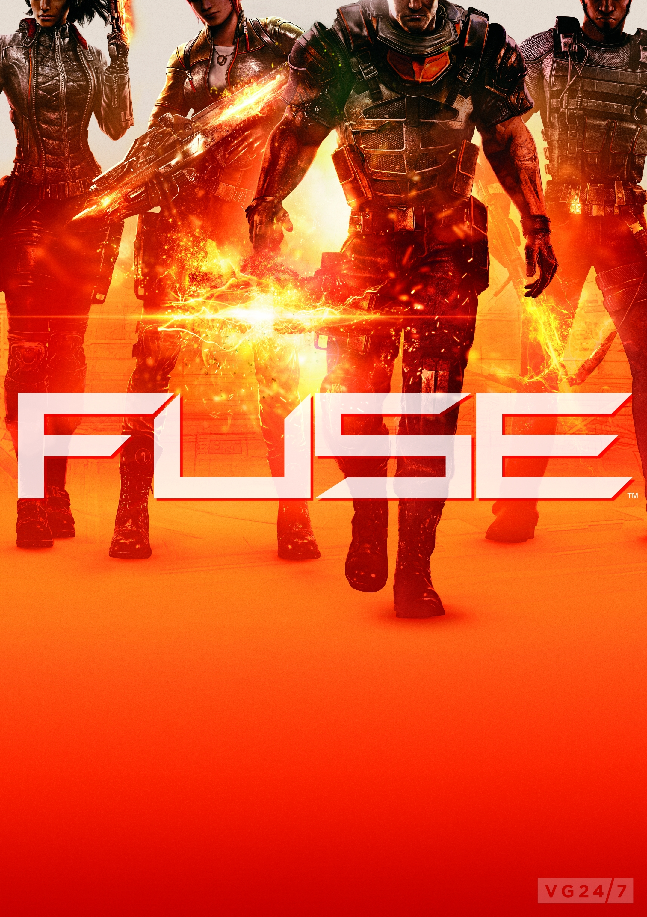 fuse boxart chops everyone's heads off