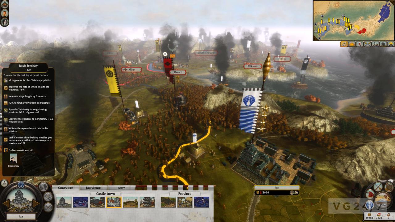 Total War: Shogun 2 - Otomo Clan Pack now available - VG247